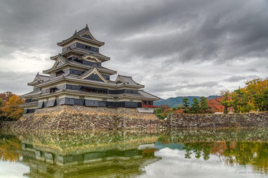 松本城のHDR写真