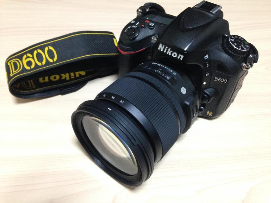 D600につけたSIGMA 24-105mm F4 DG OS HSM