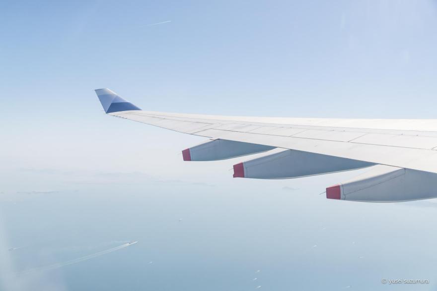 中部国際空港から台湾
