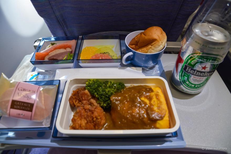 中華航空 機内食