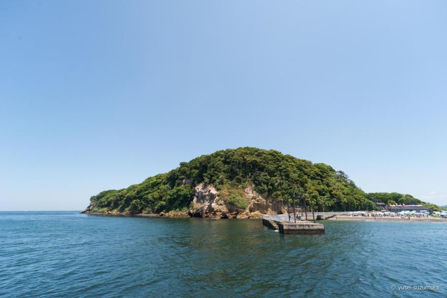 猿島 全景
