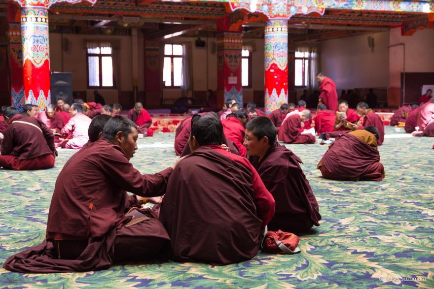 ラルンガルゴンパ チベット寺院