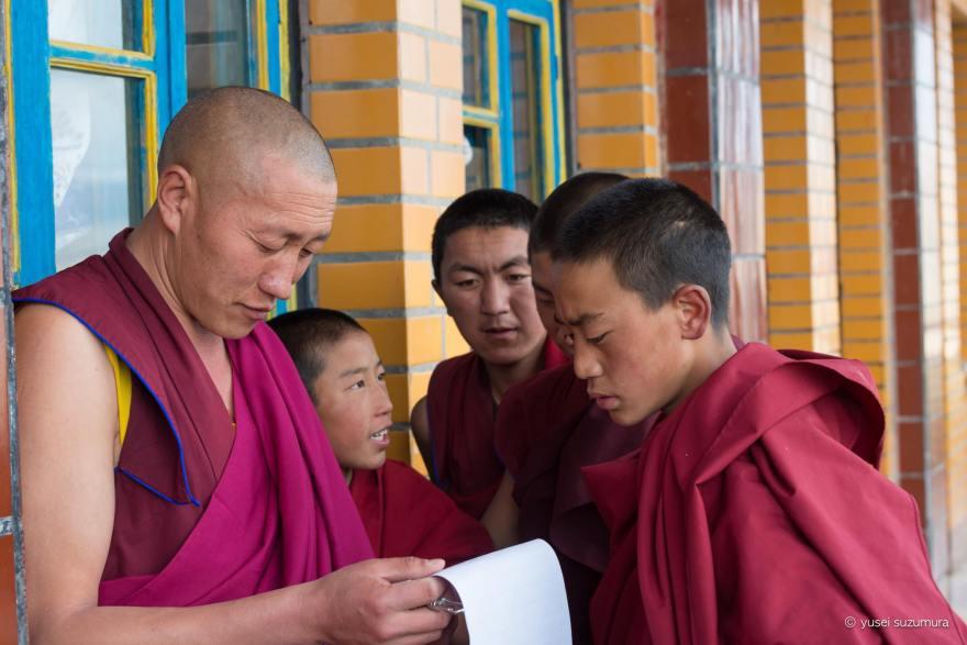 甘孜寺 チベタン 勉強