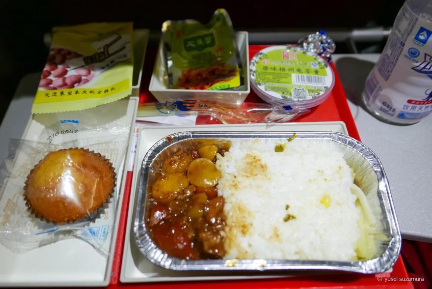 機内食 四川航空
