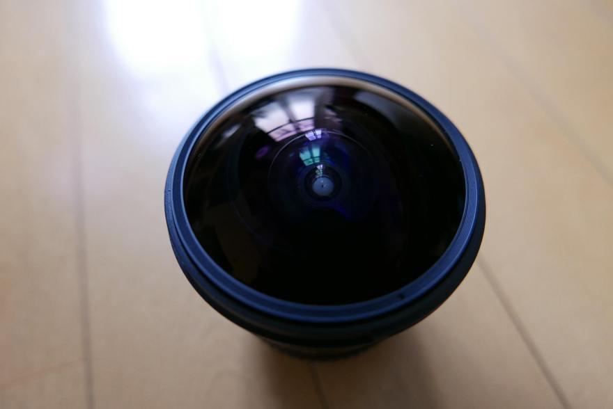 12mm F2.8 ED AS NCS FISH-EYE samyang rokinon レンズフード