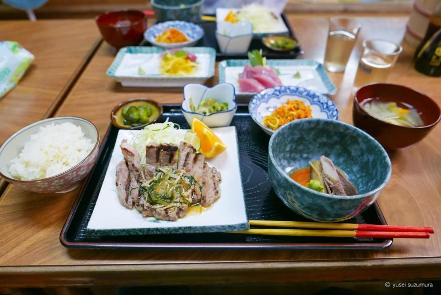 内盛荘 夕食