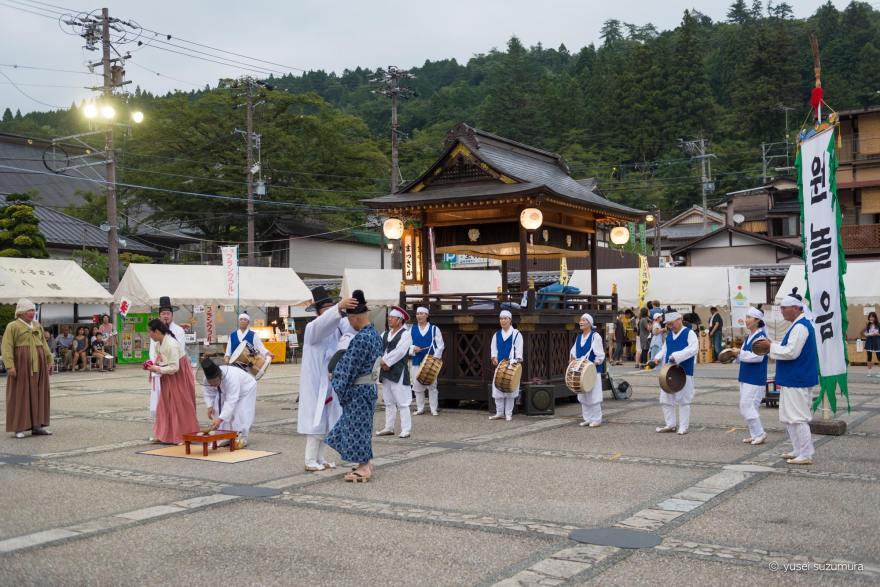 郡上踊り 韓国のイベント