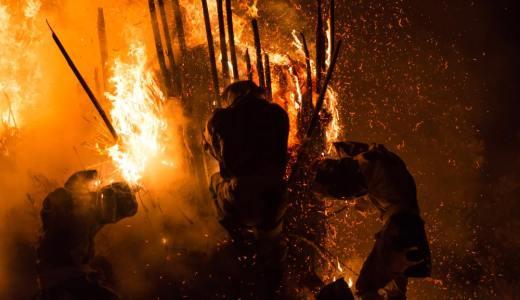 狂熱の炎の奇祭。特殊神事「鳥羽の火祭り」に行ってきた。