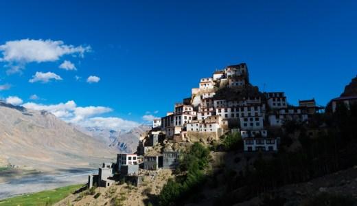 インドのチベット圏、夏休みの秘境スピティ谷の旅スケジュール