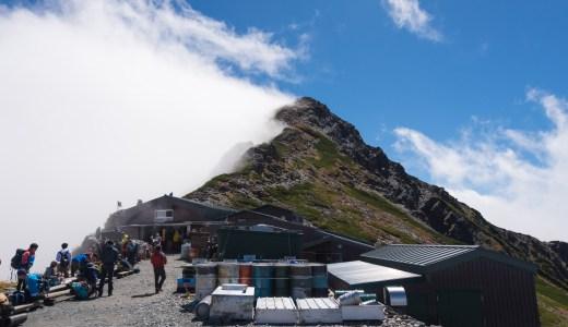 天気は悪かったけど北岳登ってきました!