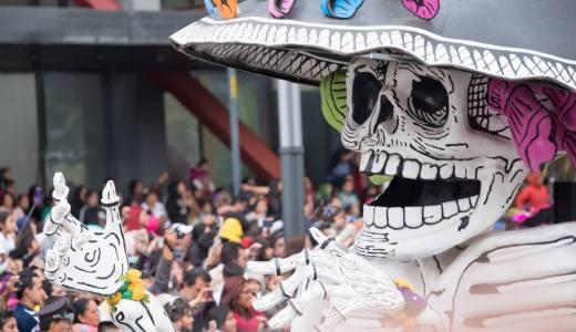 気分はジェームズボンド!メキシコシティの死者の日パレードに参加してきた!