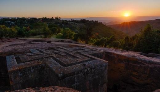 世界遺産のエチオピア正教会の聖地!エチオピアのラリべラの岩窟教会群に行ってきた!
