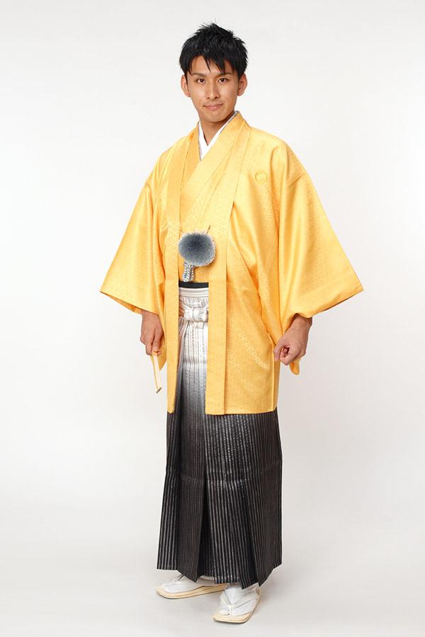 紋付袴 からし