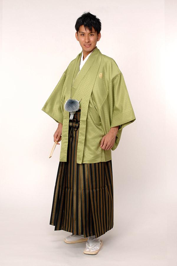 紋付袴 よもぎ