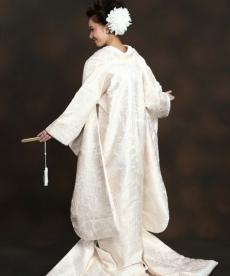 唐織の上品な白無垢