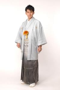 ライトスカイ紋付袴