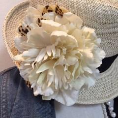 帽子のコサージュ_14
