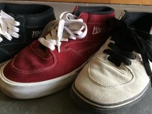 vans halfcab 3shoes toe-up