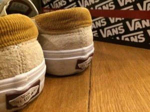 vans slip-on back-logo&box