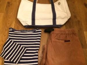 gramicci-shorts with-saintjames-llbean