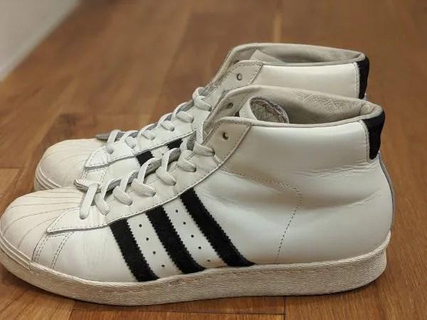 「アディダス・プロモデル」名作モデルのサイズ感やコーデ例を元靴屋が紹介・サイド画像