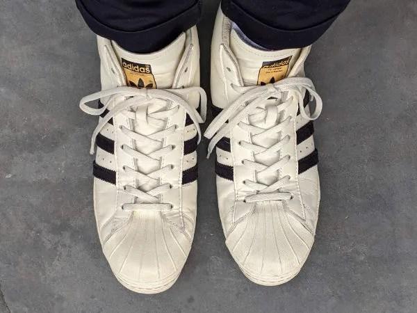 「アディダス・プロモデル」名作モデルのサイズ感やコーデ例を元靴屋が紹介・着用画像