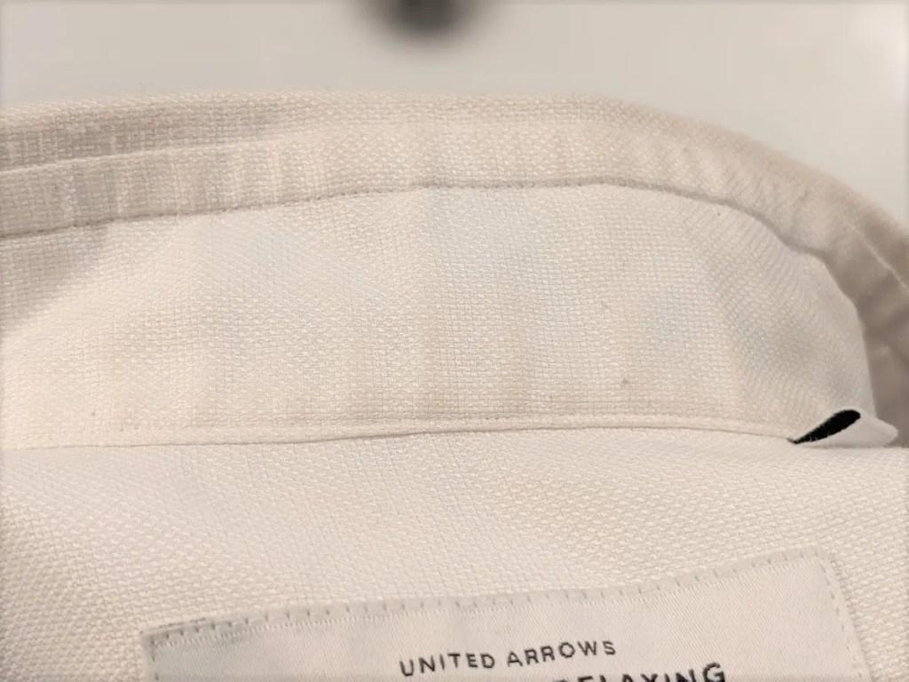 木村石鹸の洗濯洗剤『FABRICシリーズ』使用レビュー!プレウォッシュ・メインウォッシュで白シャツを洗ってみた・洗濯後画像