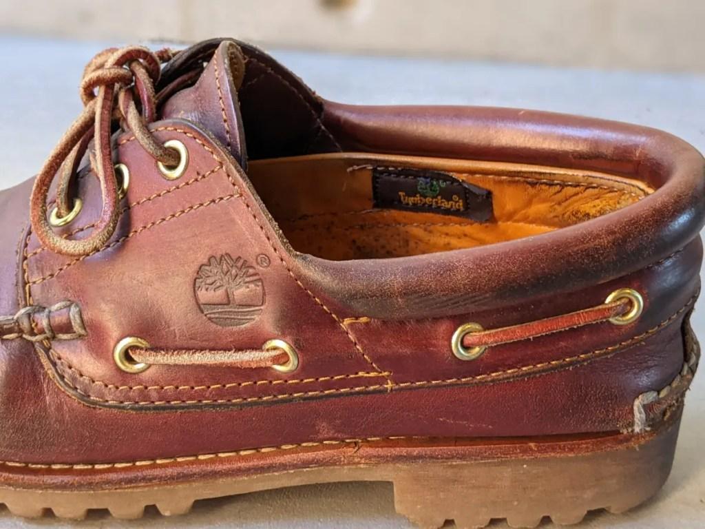 ティンバーランド3アイレットクラシック・レビュー・靴画像