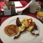 朝食に35ドルは払えぬ〜ヒルトンオナーズ