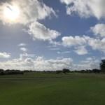 週末は朝活ゴルフ