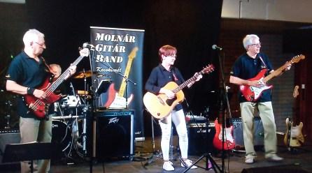 Molnár Gitár Band a Hírös Héten