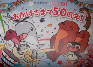 宮島水族館(みやじマリン)は開館50周年 イベントが満載です!