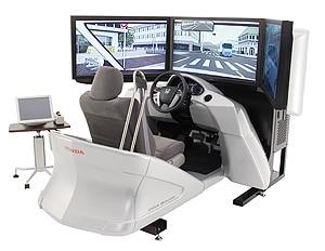 千葉リハのドライビングシミュレーター