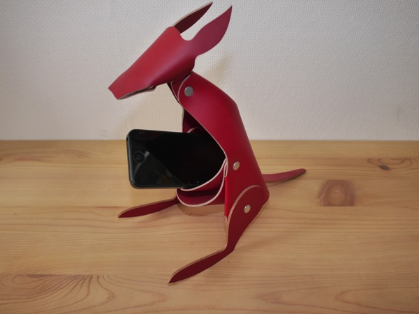 Hiroyaki leather penstand animal004