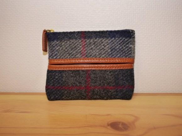 Hiroyaki tissue pouch harris tweed002