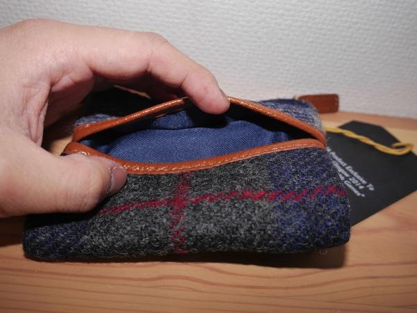 Hiroyaki tissue pouch harris tweed005
