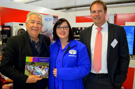 Allan Hammond, Joanne Brunette, Pieter du Plessis