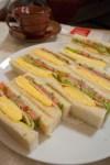 有楽町・はまの屋 スペシャルサンドイッチセット(コーヒー付き・950円)