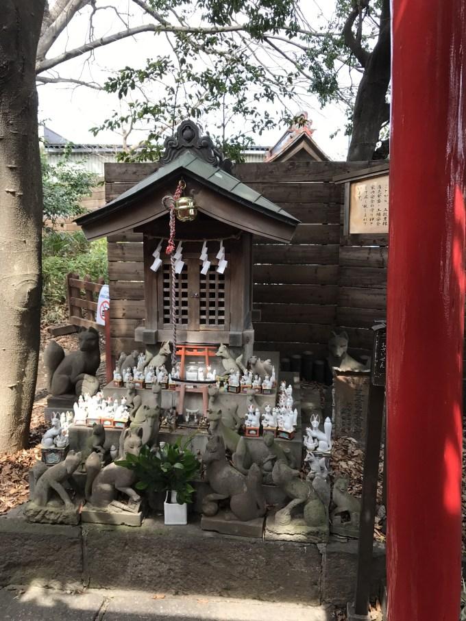 鎮守氷川神社稲荷神社
