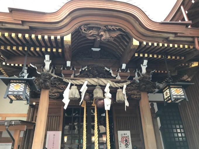 小網神社拝殿
