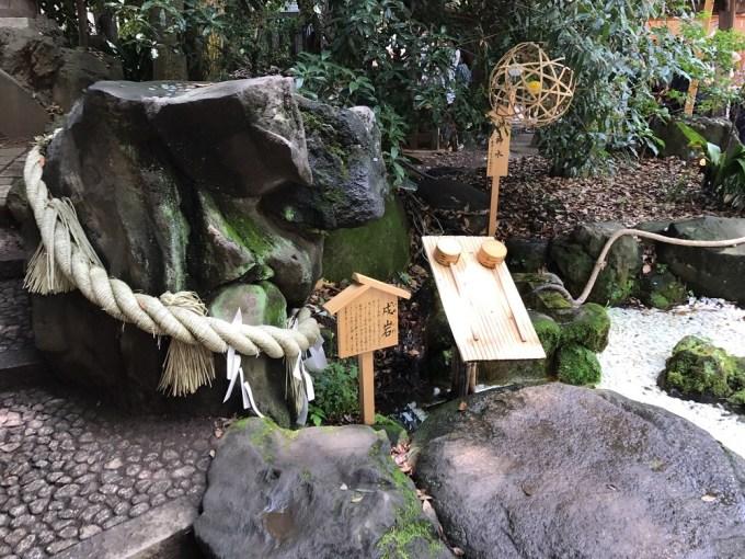 川越氷川神社戌岩