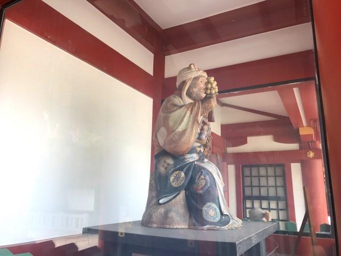 日枝神社神猿右