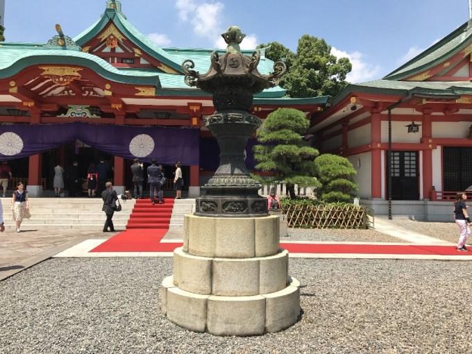 日枝神社登録右