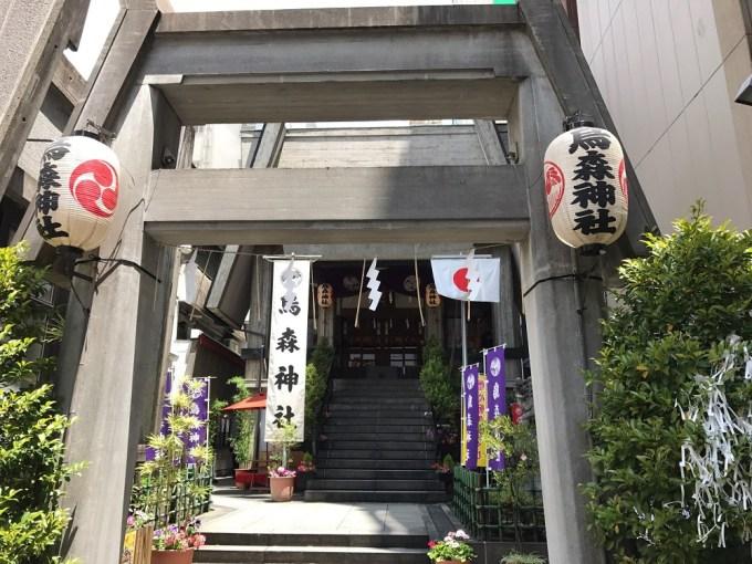 烏森神社二の鳥居