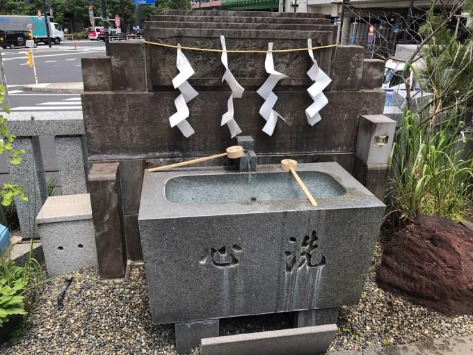 日比谷神社手水舎