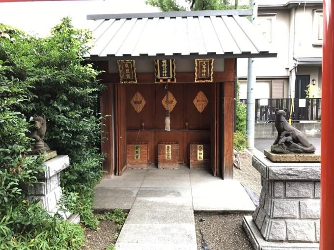 赤城神社お社