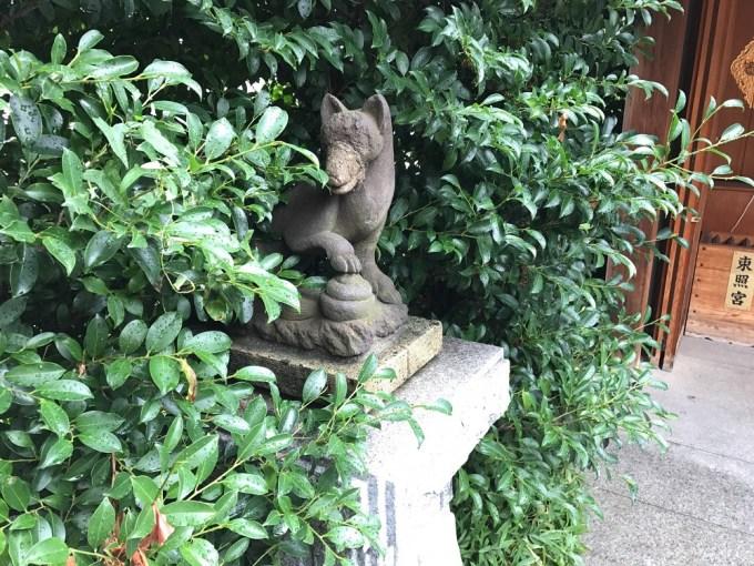 赤城神社駒狐左