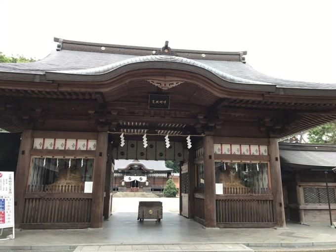 小山須賀神社神門
