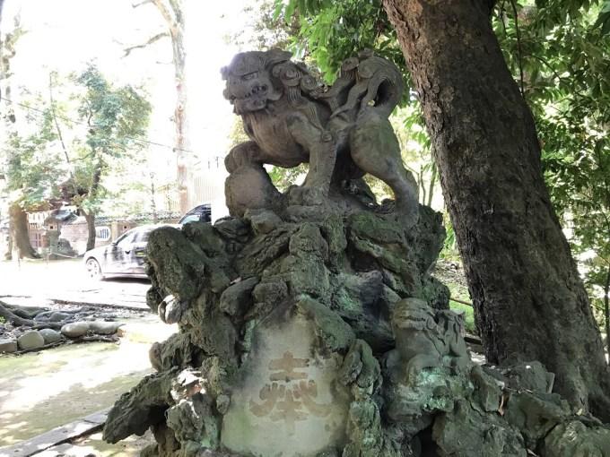 赤坂氷川神社狛犬6右