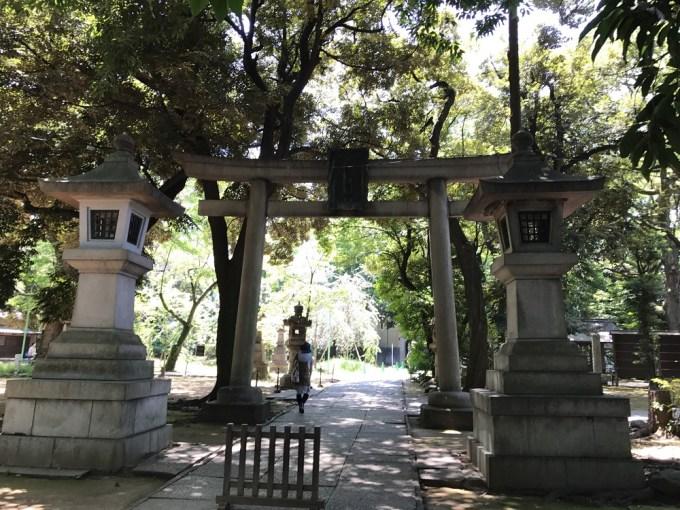 赤坂氷川神社二の鳥居